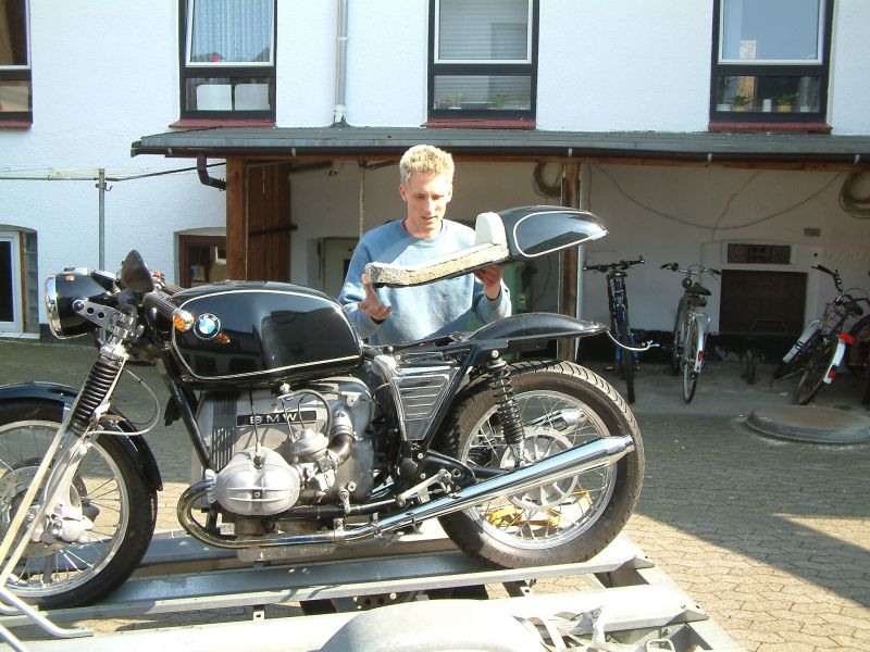 cafe racer selber bauen anleitung motorrad bild idee. Black Bedroom Furniture Sets. Home Design Ideas