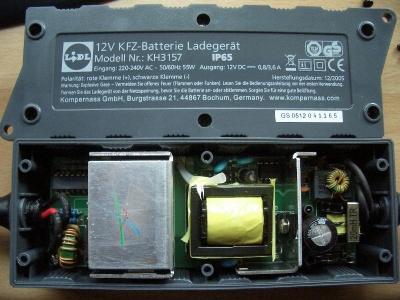 gel batterie mit normalen ladegerät laden