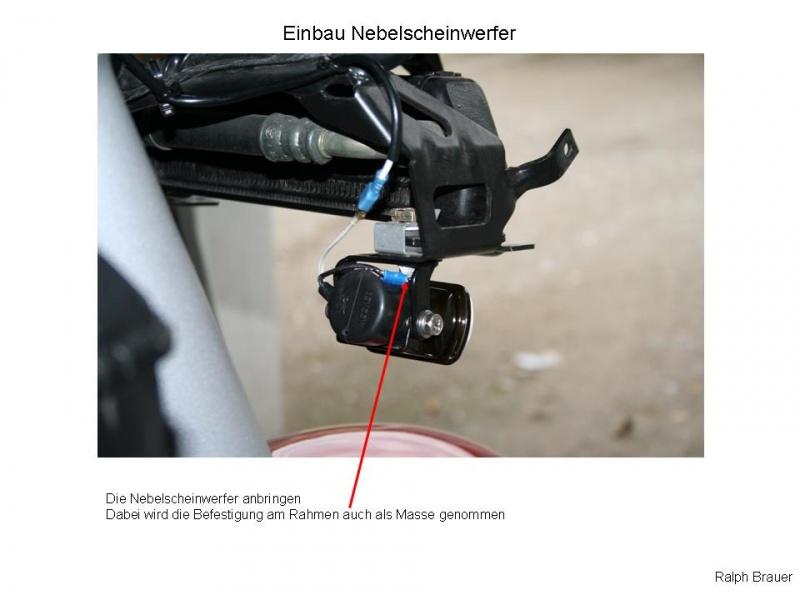 Beleuchtung (Zusatzscheinwerfer an der K1200RS/GT) – BMW-Bike-Forum
